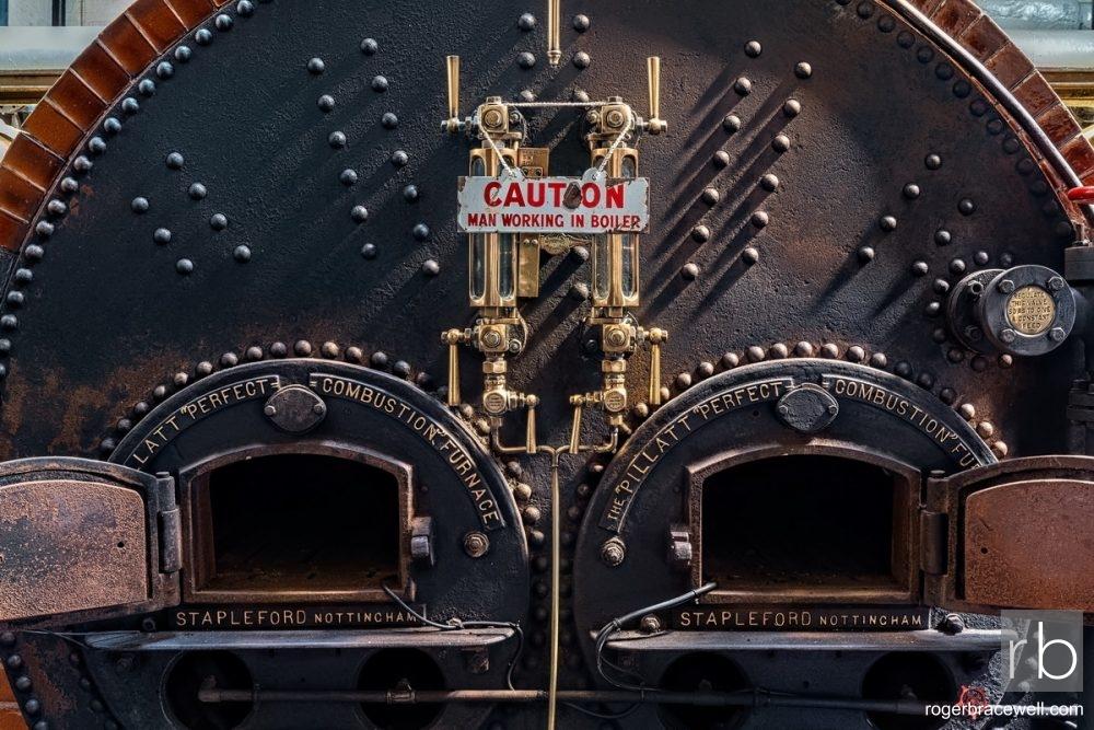 Lancashire Boiler Detail | Papplewick Pumping Station | Nottingham