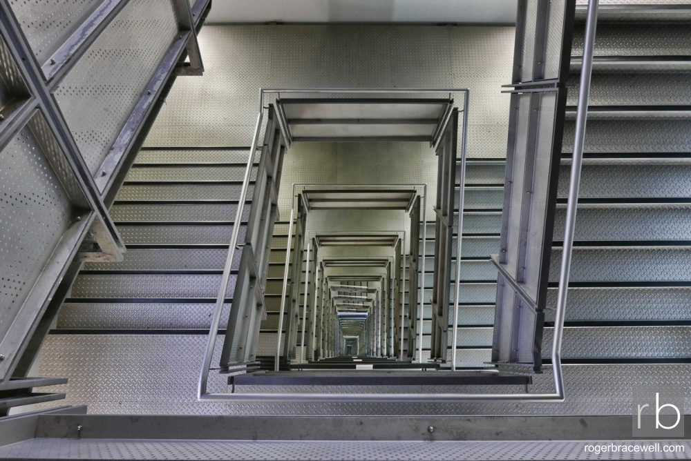 Steel Staircase | Baltic Centre for Contemporary Arts | Gateshead