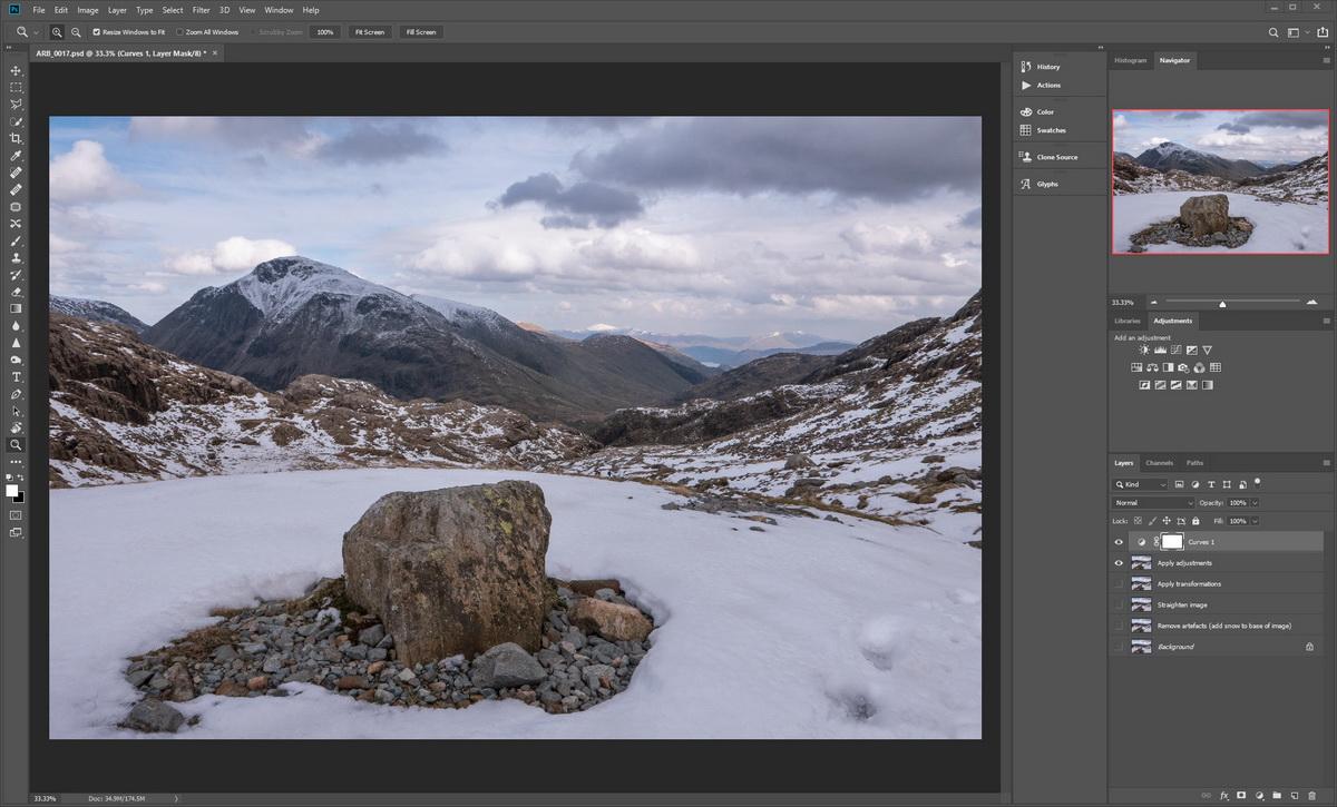 Image Processing Workflow | Photoshop adjustments