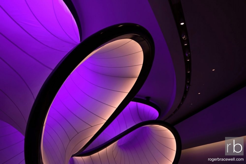 Mathematical Curves - designed by Zaha Hadid | Science Museum | London