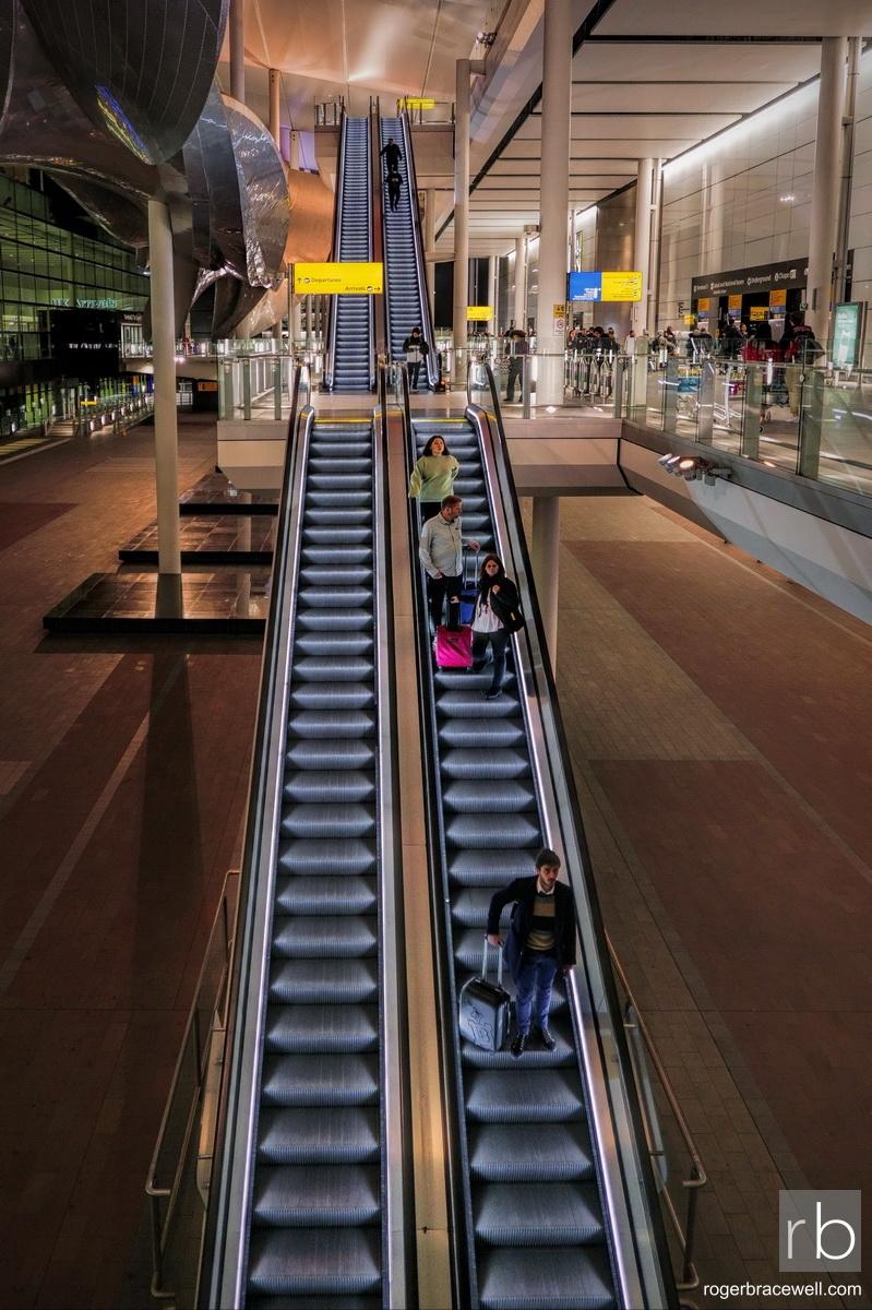 Escalators | Terminal 2 | London Heathrow