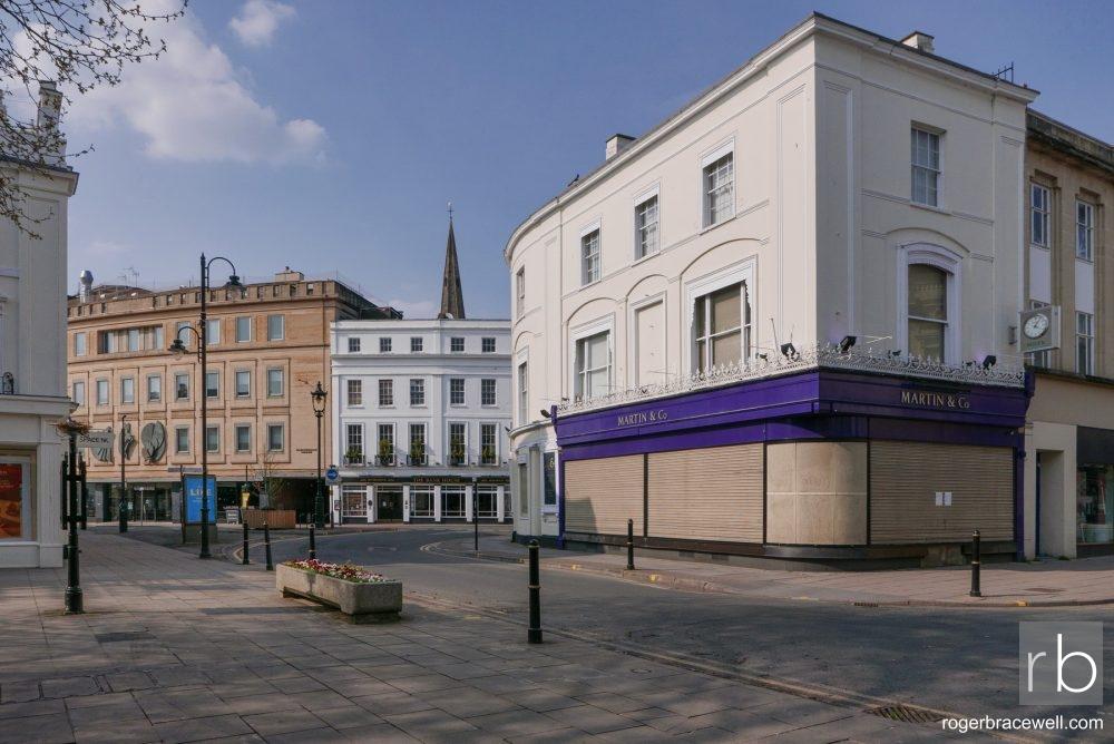 Imperial Circus & Clarence Street | Cheltenham | April 2020