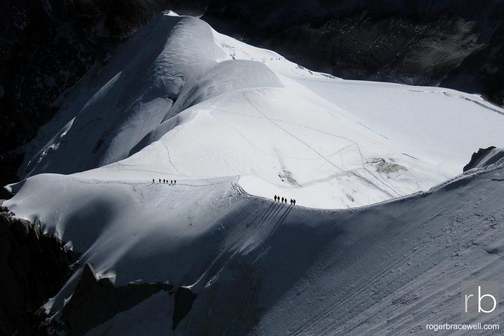 Arête des Cosmiques from Aiguille du Midi | Chamonix-Mont Blanc | France